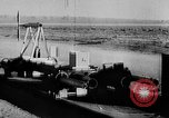 Image of rocket powered sled Muroc California USA, 1948, second 48 stock footage video 65675041471