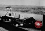 Image of rocket powered sled Muroc California USA, 1948, second 49 stock footage video 65675041471