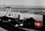 Image of rocket powered sled Muroc California USA, 1948, second 50 stock footage video 65675041471