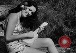Image of Pin up models Coral Gables Florida USA, 1948, second 23 stock footage video 65675041472