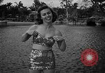 Image of Pin up models Coral Gables Florida USA, 1948, second 24 stock footage video 65675041472