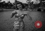 Image of Pin up models Coral Gables Florida USA, 1948, second 25 stock footage video 65675041472