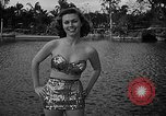 Image of Pin up models Coral Gables Florida USA, 1948, second 27 stock footage video 65675041472
