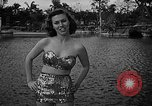 Image of Pin up models Coral Gables Florida USA, 1948, second 28 stock footage video 65675041472