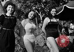 Image of Pin up models Coral Gables Florida USA, 1948, second 51 stock footage video 65675041472