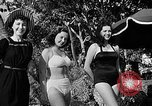Image of Pin up models Coral Gables Florida USA, 1948, second 52 stock footage video 65675041472