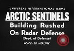 Image of Radar stations Canada, 1956, second 15 stock footage video 65675041475