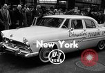 Image of Chrysler Turbine Special automobile New York City USA, 1956, second 2 stock footage video 65675041479