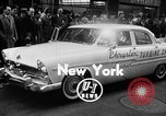 Image of Chrysler Turbine Special automobile New York City USA, 1956, second 3 stock footage video 65675041479