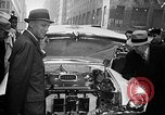 Image of Chrysler Turbine Special automobile New York City USA, 1956, second 15 stock footage video 65675041479