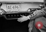 Image of Chrysler Turbine Special automobile New York City USA, 1956, second 25 stock footage video 65675041479