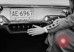 Image of Chrysler Turbine Special automobile New York City USA, 1956, second 28 stock footage video 65675041479