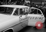 Image of Chrysler Turbine Special automobile New York City USA, 1956, second 30 stock footage video 65675041479