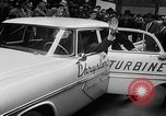Image of Chrysler Turbine Special automobile New York City USA, 1956, second 31 stock footage video 65675041479