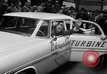 Image of Chrysler Turbine Special automobile New York City USA, 1956, second 32 stock footage video 65675041479