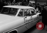 Image of Chrysler Turbine Special automobile New York City USA, 1956, second 33 stock footage video 65675041479