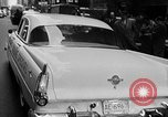 Image of Chrysler Turbine Special automobile New York City USA, 1956, second 39 stock footage video 65675041479