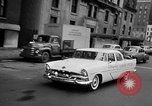 Image of Chrysler Turbine Special automobile New York City USA, 1956, second 40 stock footage video 65675041479