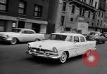 Image of Chrysler Turbine Special automobile New York City USA, 1956, second 41 stock footage video 65675041479