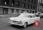 Image of Chrysler Turbine Special automobile New York City USA, 1956, second 43 stock footage video 65675041479