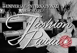 Image of fashion show Italy, 1956, second 1 stock footage video 65675041480