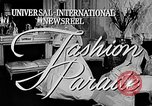 Image of fashion show Italy, 1956, second 2 stock footage video 65675041480