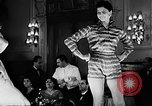 Image of fashion show Italy, 1956, second 38 stock footage video 65675041480
