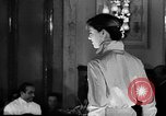 Image of fashion show Italy, 1956, second 50 stock footage video 65675041480