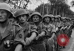 Image of French troops Haiphong Vietnam, 1955, second 34 stock footage video 65675041482