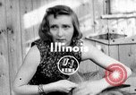 Image of Pet lion in captivity Illinois United States USA, 1954, second 1 stock footage video 65675041493