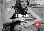 Image of Pet lion in captivity Illinois United States USA, 1954, second 3 stock footage video 65675041493