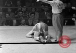 Image of Golden Gloves Light middleweight boxing  New York City USA, 1954, second 26 stock footage video 65675041494