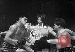 Image of underwater boxing Silver Springs Florida USA, 1954, second 3 stock footage video 65675041495