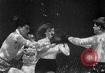 Image of underwater boxing Silver Springs Florida USA, 1954, second 7 stock footage video 65675041495