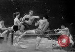 Image of underwater boxing Silver Springs Florida USA, 1954, second 12 stock footage video 65675041495