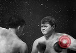 Image of underwater boxing Silver Springs Florida USA, 1954, second 20 stock footage video 65675041495