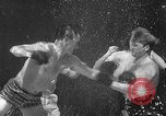 Image of underwater boxing Silver Springs Florida USA, 1954, second 24 stock footage video 65675041495