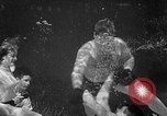 Image of underwater boxing Silver Springs Florida USA, 1954, second 28 stock footage video 65675041495