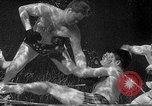 Image of underwater boxing Silver Springs Florida USA, 1954, second 29 stock footage video 65675041495