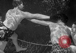 Image of underwater boxing Silver Springs Florida USA, 1954, second 30 stock footage video 65675041495