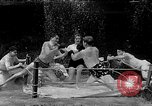 Image of underwater boxing Silver Springs Florida USA, 1954, second 34 stock footage video 65675041495