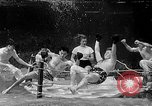 Image of underwater boxing Silver Springs Florida USA, 1954, second 37 stock footage video 65675041495