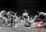 Image of underwater boxing Silver Springs Florida USA, 1954, second 38 stock footage video 65675041495