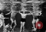 Image of underwater boxing Silver Springs Florida USA, 1954, second 41 stock footage video 65675041495