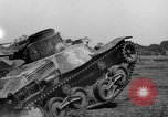 Image of 1941 Japanese Light Tank India, 1944, second 37 stock footage video 65675041507