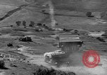 Image of tanks outfitted with hedgerow cutters and flame throwers Europe, 1944, second 42 stock footage video 65675041512