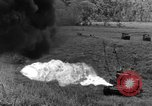 Image of tanks outfitted with hedgerow cutters and flame throwers Europe, 1944, second 46 stock footage video 65675041512