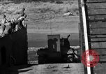 Image of tanks outfitted with hedgerow cutters and flame throwers Europe, 1944, second 51 stock footage video 65675041512