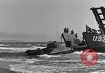 Image of tanks outfitted with hedgerow cutters and flame throwers Europe, 1944, second 53 stock footage video 65675041512