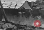 Image of tanks outfitted with hedgerow cutters and flame throwers Europe, 1944, second 61 stock footage video 65675041512